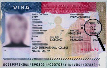 Религиозная виза в США